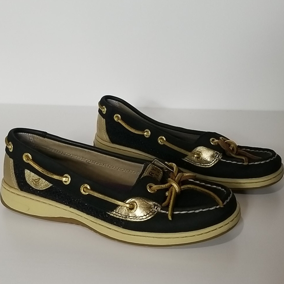 Sperry Top-Siders Angelfish Black and Gold